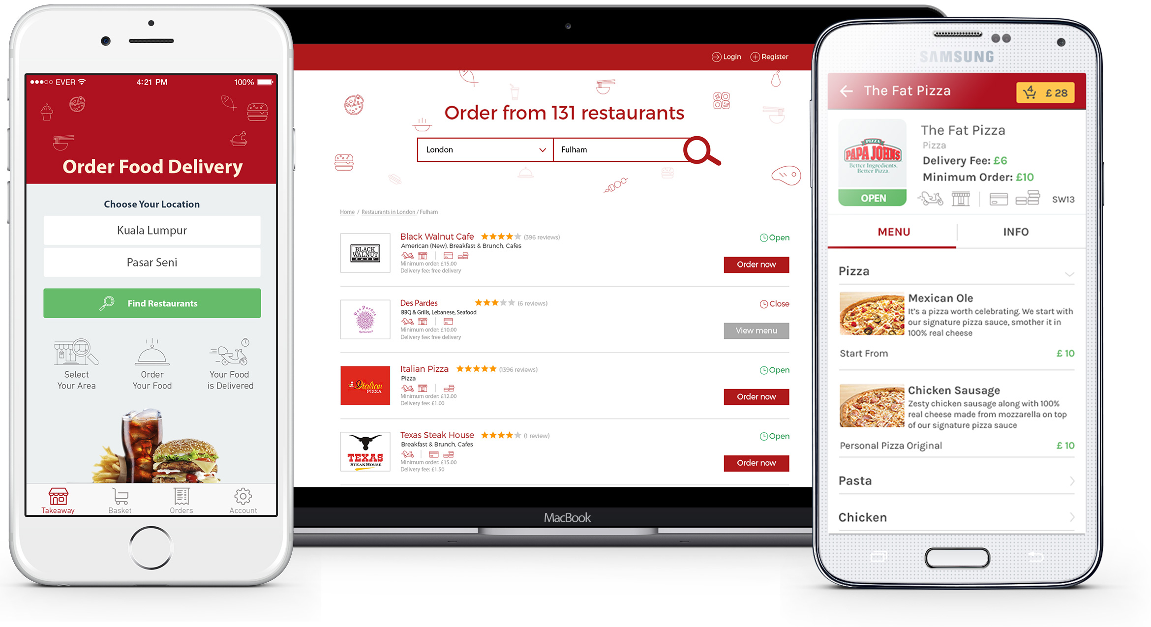 Online Food Delivery Platform